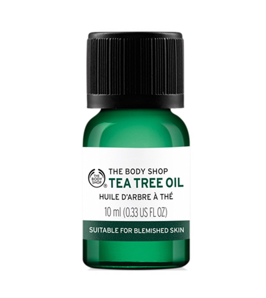 Tinh Dầu Tràm Trà Giảm Mụn The Body Shop Tea Tree Oil 10ml