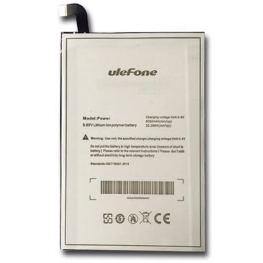 6. Pin Ulefone Power 1