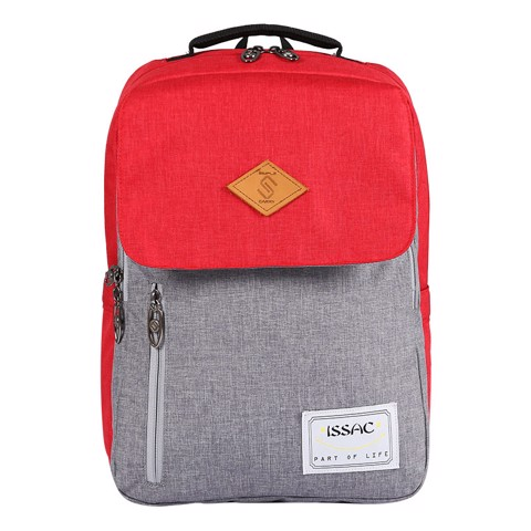 Balo SimpleCarry Issac2 D.Grey/Red