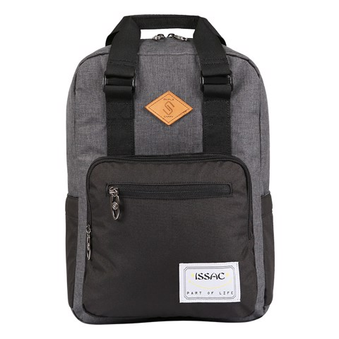 Balo laptop SimpleCarry Issac4 D.Grey/Balck.