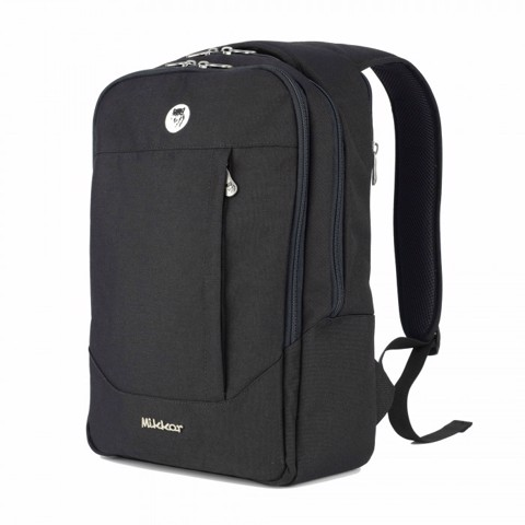 Balo laptop nam Mikkor The Arthur (Black)