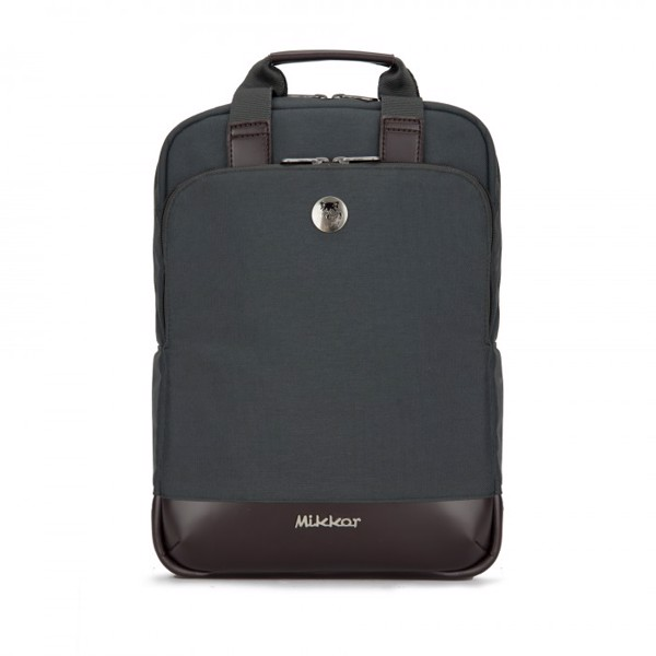 Balo laptop Mikkor THE WILLIS (Charcoal)