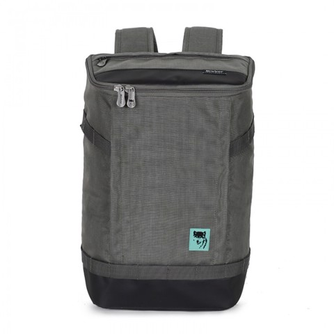 Balo laptop Mikkor The Irvin Backpack Dark Mouse Grey