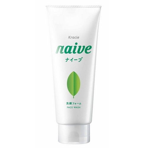 Sữa Rửa Mặt Trà Xanh Naïve 110Gr | Naive Green Tea Facial Cleanser 110Gr