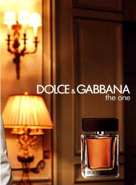 NƯỚC HOA NAM DOLCE& GABBANA THE ONE 100ml