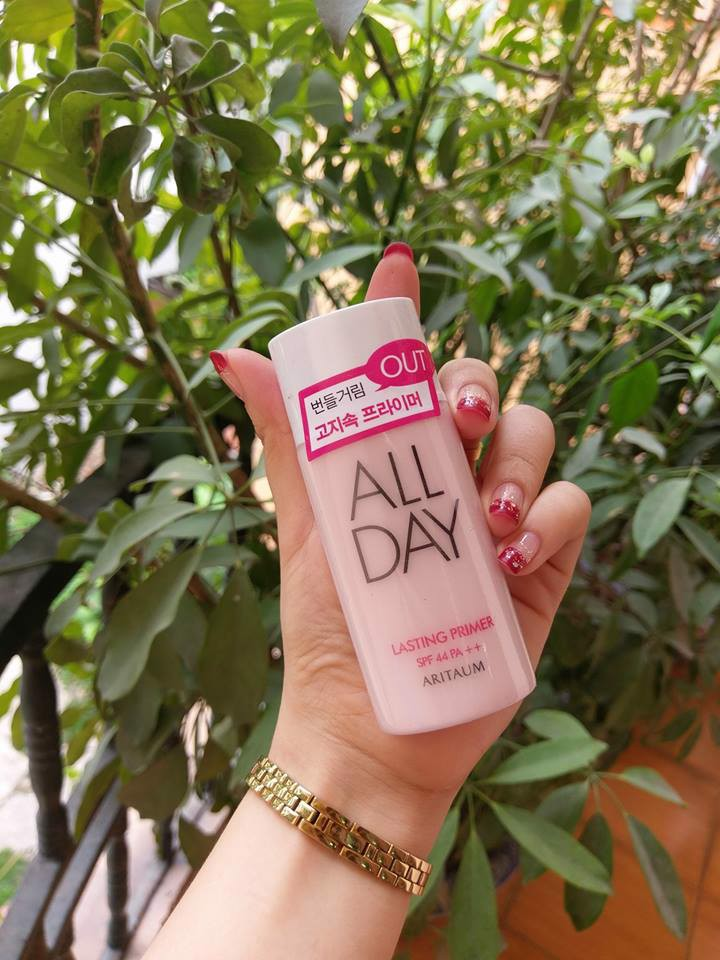 KEM LÓT ALL DAY ARITAUM LASTING PRIMER SPF44 PA+35ml