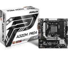 Asrock A320M Pro 4 for AMD Socket AM4