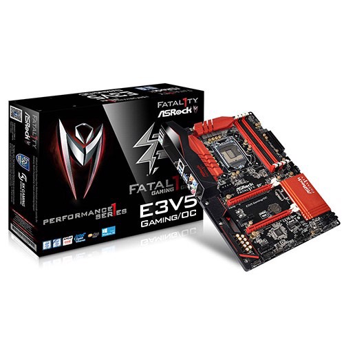 Mainboard Asrock E3V5 Performance Gaming/OC - Socket 1151