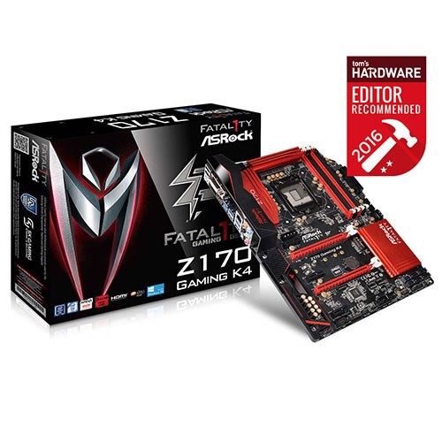 Mainboard Asrock Z170 Gaming K4 - Socket 1151