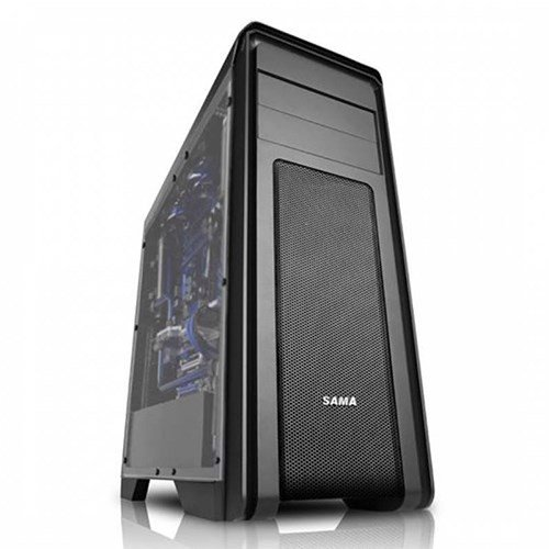 CASE SAMA FALCON F BLACK - FULL SIDE WINDOW