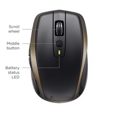 Chuột Logitech MX Anywhere II Wireless and Bluetooth