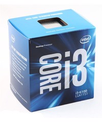 CPU Intel Core i3 6100 Socket 1151 Skylake