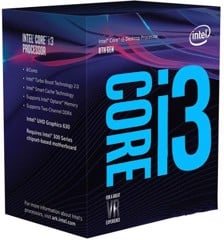 CPU Intel Core i3 8350K