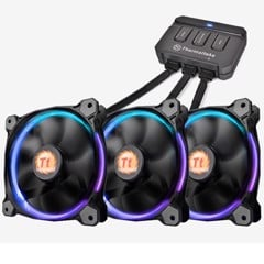Fan Thermaltake Riing 12 Led RGB - 3 Fan pack
