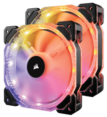 Fan Corsair HD140 RGB Led - Kit 2 Fan