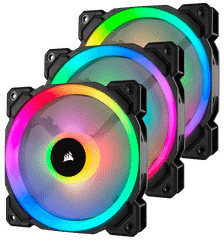 Fan Corsair LL 120 RGB Led - Kit 3 Fan