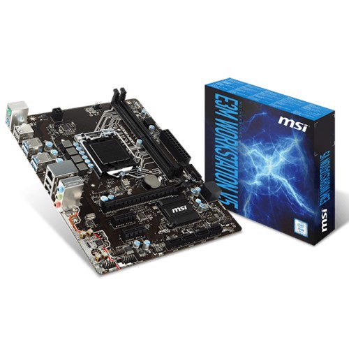 Mainboard MSI  E3M Workstation V5 - Socket 1151
