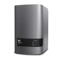 Ổ cứng di động Western My Book Duo 4TB Charcoal Multi  City ASIA
