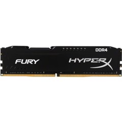 Ram Hyperx Fury 16GB Bus 2400 Black