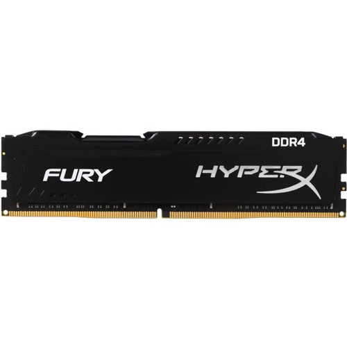 Ram Hyperx Fury 8GB Bus 2666 Black