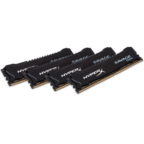 Ram Hyperx Savage 4x16GB 64GB Bus 2666 Black