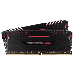 Ram Corsair Vengeance Led Red 2 x 8GB 16G bus 2666 C16