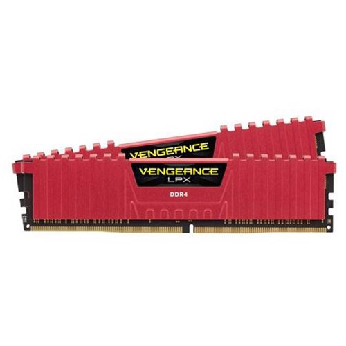 Ram Corsair Vengeance Red LPX DDR4 2 x 4GB 8G bus 2133 C13 for PC
