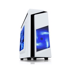 CASE SAMA eSport 2 Window - Mini ATX case Trắng
