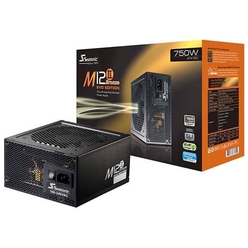 Nguồn Seasonic M12ii 750W EVO Plus Bronze