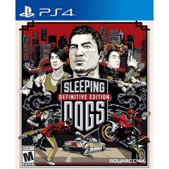 Game Sleeping Dogs Definitive Edition for PS 4