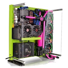 Case Thermaltake Core P5 Green
