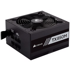 Nguồn Corsair TX850M - 80 Plus Gold - Semi Modul