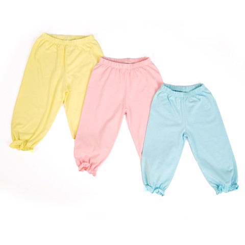 [Extra Save] 3 Cotton Pants Pack