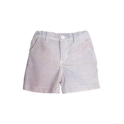 Cotton Shorts with Grey Stripe