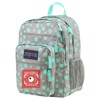 Balo Jansport Big Student Grey Rabbit Sylvia Dot