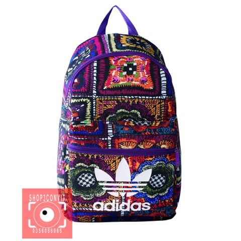 Adidas Women's Crochita Classic Rucksack, Multi-Coloured Backpack