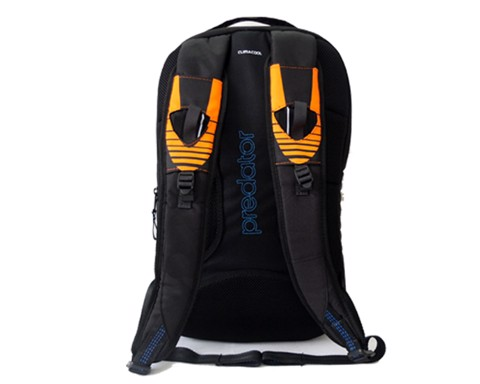 Adidas Predator Backpack Black Orange