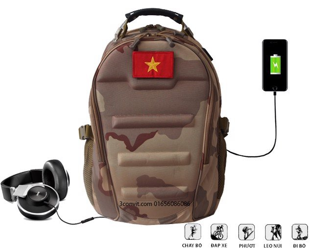 Cool Walker Military Bag