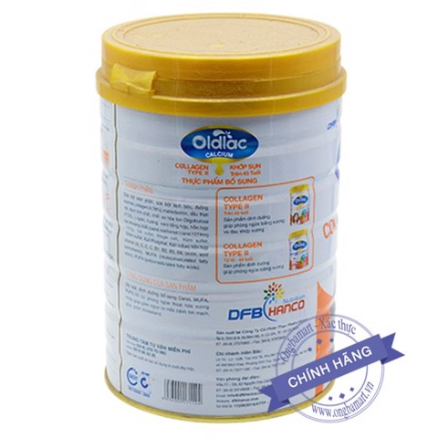 Oldlac Calcium Collagen Type II 45