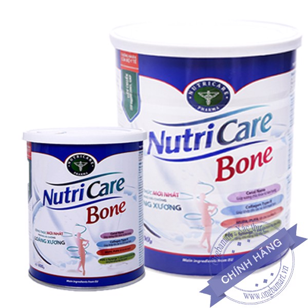 Combo 2 hộp Sữa dinh dưỡng canxi Nutricare Bone