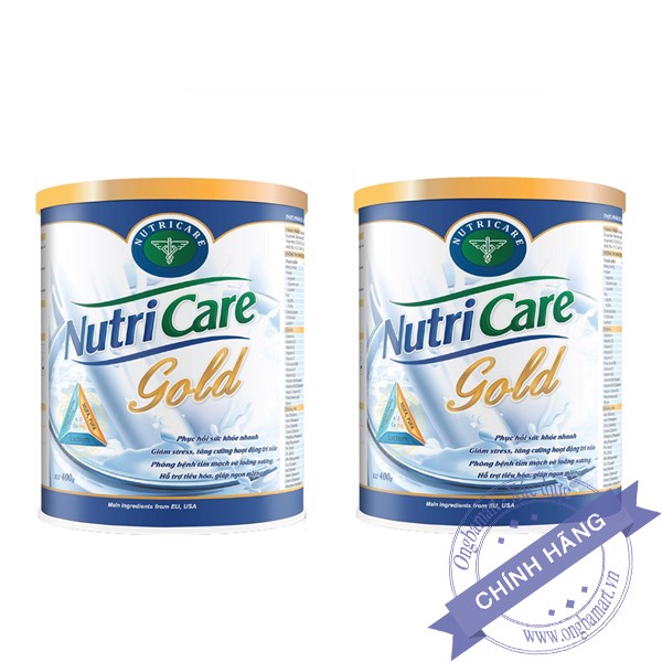 Combo Sữa dinh dưỡng Nutricare Gold 400g