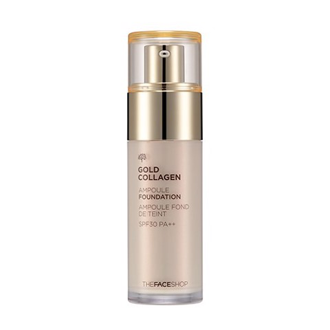 Kem nền The Face Shop Gold Collagen Ampoule Foundation 40ml