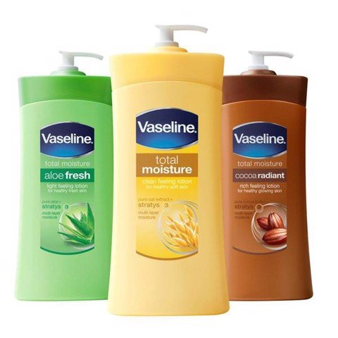 Lotion Vaseline 725ml