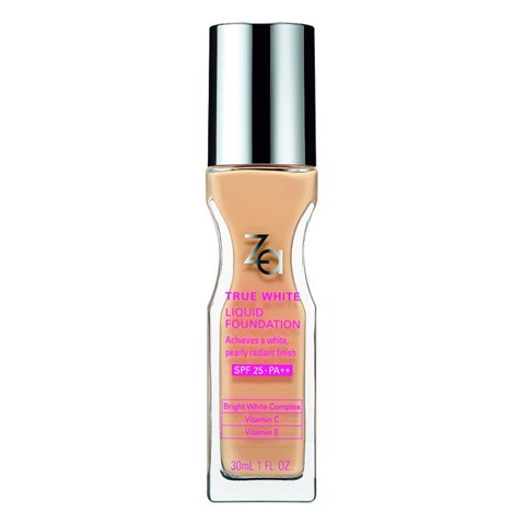 Phấn Nền Dạng Lỏng Za True White Plus Liquid Foundation 30ml