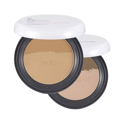 Tạo Khối The Face Shop Dual Shading Pact 12g