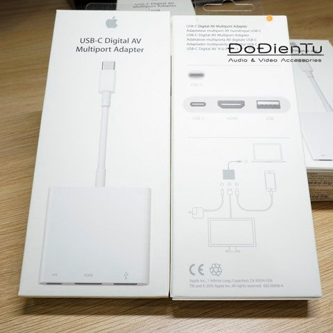 Apple USB - C Digital AV Multiport Adapter MJ1K2AM/A