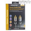 Monster ME 200i RCA Stereo Audio RCA Cables 1.5M