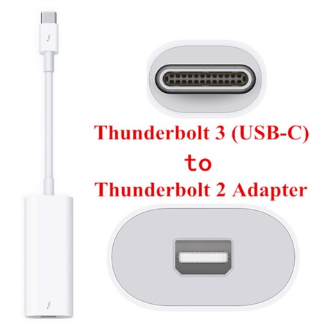 APPLE THUNDERBOLT 3 (USB-C) TO THUNDERBOLT 2 ADAPTER - MMEL2AM/A A1790