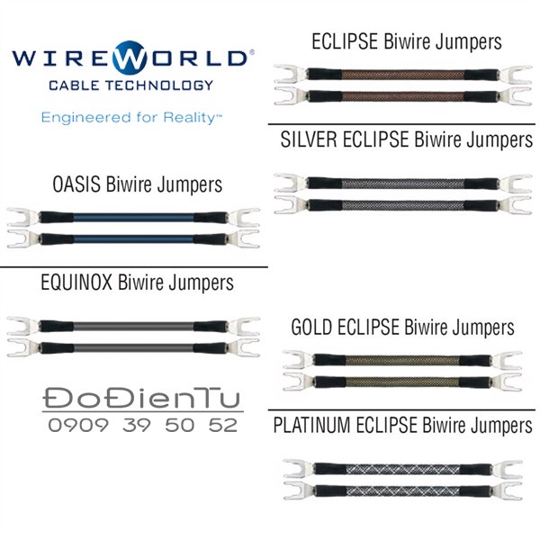 Wireworld Equinox Biwire Jumpers