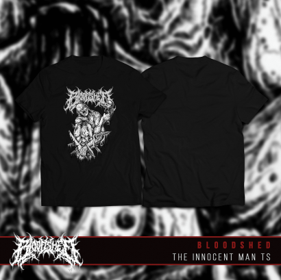 Bloodshed - Innocent Man TShirt - Normal Quality